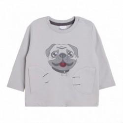 Sudadera rizo cara de perrito - Newness - BBI68086