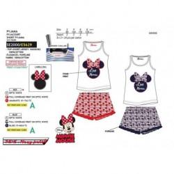 Pijama corto 100% algodón-SCI-SE2000-MINNIE