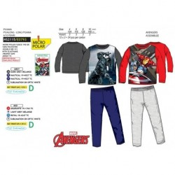 Pijama largo 100%pe-SCI-HS2115-AVENGERS C