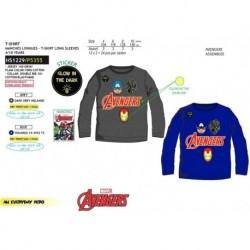 Camiseta fosforescente ml 100%algodon-SCI-HS1229-AVENGERS C