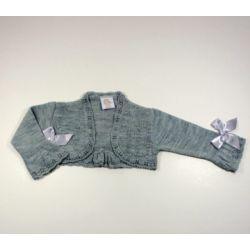 PBI-8149-Gris fabricantes de ropa de bebe Chaqueta niña