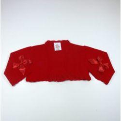 PBI-8149-Rojo fabricantes de ropa de bebe Chaqueta niña