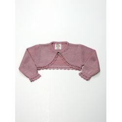 Chaqueta niña bobita boton cuello-Primbaby-PBV-5148-Maquillaje