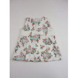 Vestido tela bailarinas-Primbaby-PBV-9162-Crudo