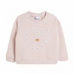 Sudadera con cuello bebe bombones - Newness - BGI68551
