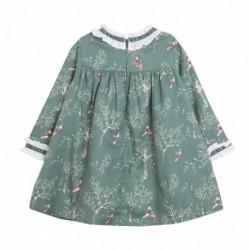 Vestido estampado niñas jugando - Newness - BGI98549 almacen
