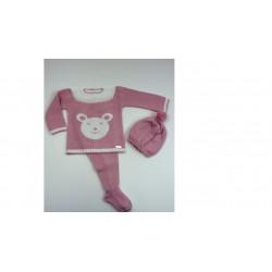 PBI-2009-Maquillaje fabricantes de ropa de bebe Conjunto 3p.
