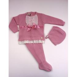 PBI-2022Maquillaje fabricantes de ropa de bebe Conjunto 3p.