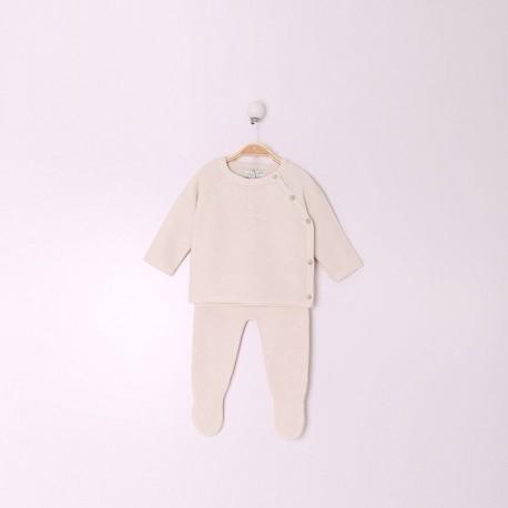 TMBB-29702_CRUDO mayorista de ropa de bebéConjunto Rec Nacido