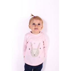 TMBB-29174_ROSA PALO proveedor ropa de niñas Camiseta Manga