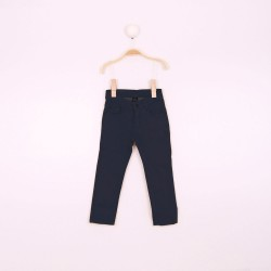 Pantalon Bebe Niño Color Marino