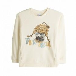 Comprar ropa de niño online Sudadera perchada de gato - Newness