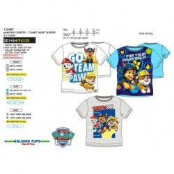 Camiseta mc -PAW PATROL