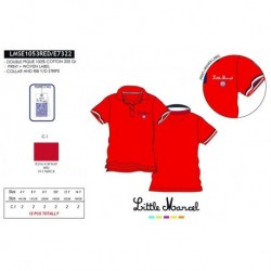 Polo mg corta little marcel - Little Marcel - NFV-LMSE1053RED