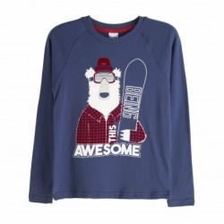 Camiseta oso esquiador - Newness - KBI06437