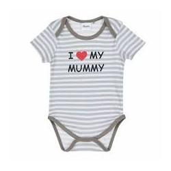 TMBB-173469 proveedor ropa de bebé Bodies 3 diseños de manga