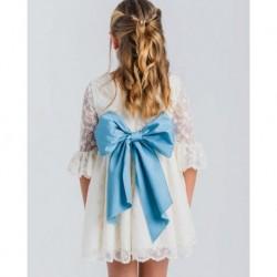 Vestido niña pequeño-LOV-1020020410-La Ormiga