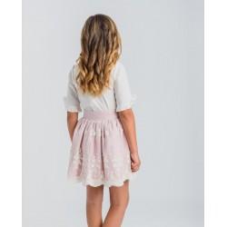 Conjunto niña blusa y falda-LOV-1020010720G-La Ormiga