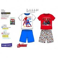 Pijama corto 100% algodón-SCFV-ET2013-AVENGERS C