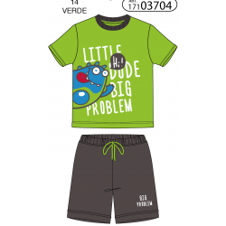 PIJAMA INF NIÑO M/C-P/C-EST: SUNSET ON THE BEACH Tobogán - TAV-171 03705