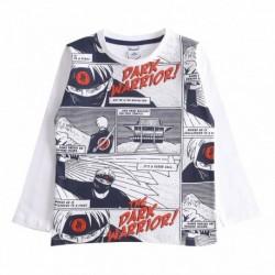Camiseta dialogo the dark warrior algodón 100% - Newness -