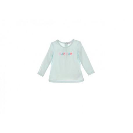 TMBB-NNER0006 proveedor ropa de niñas Camiseta ML naf naf