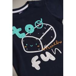 Camiseta mc bebe niño-SMV-20076-UNICO-Street Monkey almacen