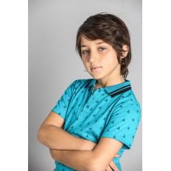 SMV-20462-AZUL GRECIA Mayorista de ropa infantil Polo mc