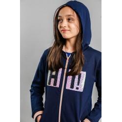 Sudadera con capucha niña-SMV-20500-UNICO-Street Monkey almacen