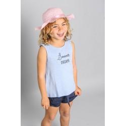 Camiseta desmangada niña-SMV-20508-UNICO-Street Monkey almacen