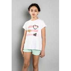 SMV-20518-UNICO Mayorista de ropa infantil Conjunto corto
