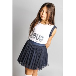 Camiseta desmangada niña-SMV-20521-UNICO-Street Monkey almacen