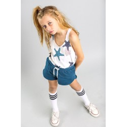 SMV-20543-UNICO Mayorista de ropa infantil Conjunto corto