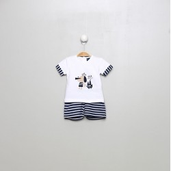 SMV-20604-UNICO Mayorista de ropa infantil Conjunto corto