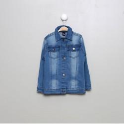 SMV-95001-UNICO Mayorista de ropa infantil Chaqueta tejana