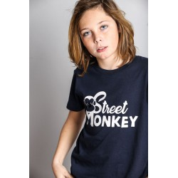 Camiseta mc niño-SMV-181170-1-MARINO-Street Monkey almacen
