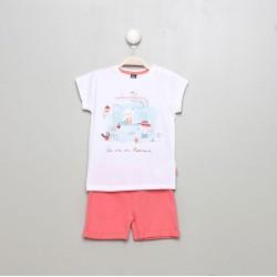 SMV-20106-1-UNICO Mayorista de ropa infantil Conjunto corto