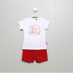 SMV-20108-1-UNICO Mayorista de ropa infantil Conjunto corto