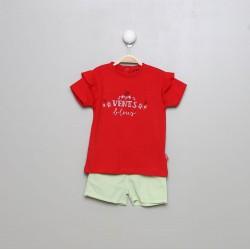 SMV-20110-1-UNICO Mayorista de ropa infantil Conjunto corto