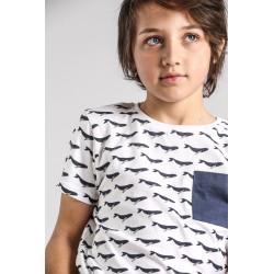 SMV-20406-1-UNICO Mayorista de ropa infantil Conjunto corto