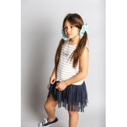SMV-20524-1-UNICO Mayorista de ropa infantil Vestido tirantes