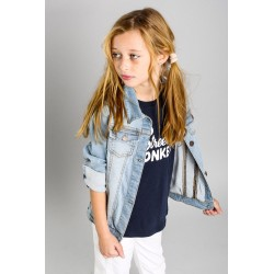 SMV-96004-1-UNICO Mayorista de ropa infantil Chaqueta tejana