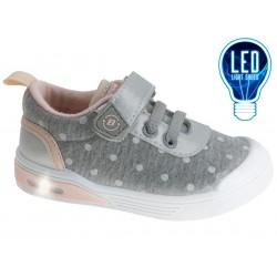 Calzado sport lona con luces-BPV-2177470-Beppi