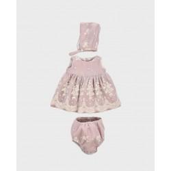 Vestido+capota+cubrepañal-LOV-1020010707-La Ormiga