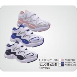 DKV-FH303 calzado de infantil al por mayor Deportivas bicolor