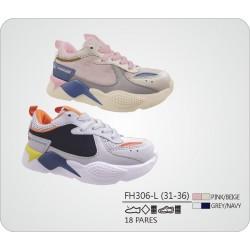 DKV-FH306-L calzado de infantil al por mayor Deportivas maxi