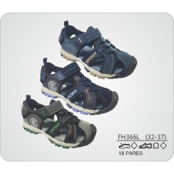 DKV-FH366L calzado de infantil al por mayor Sandalia sport