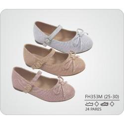 DKV-FH353M calzado de infantil al por mayor Francesitas