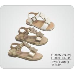 DKV-FH383L calzado de infantil al por mayor Sandalias planas