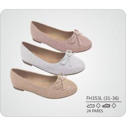 DKV-FH353L calzado de infantil al por mayor Francesitas